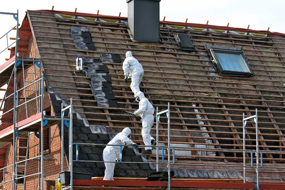 Dachdecker Matthiesen - Asbestsanierung und Entsorgung
